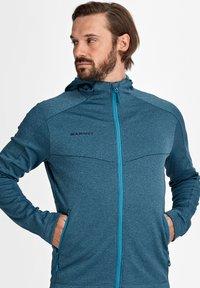 Mammut - NAIR  - Fleece jacket - sapphire melange - 2