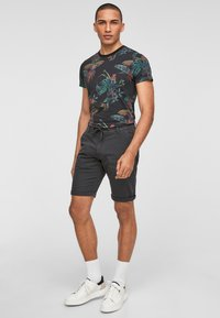 Q/S designed by - Shorts - dark grey - 1