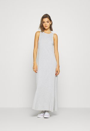 TELMA DRESS - Maxi dress - light grey melange