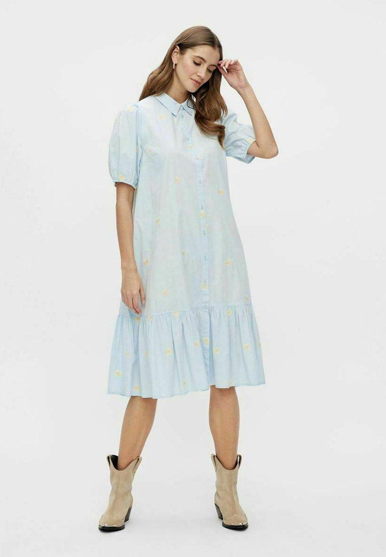 Mujer YASFIELDFLOWER - Vestido camisero