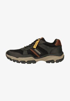 Sneakers laag - schwarz/braun