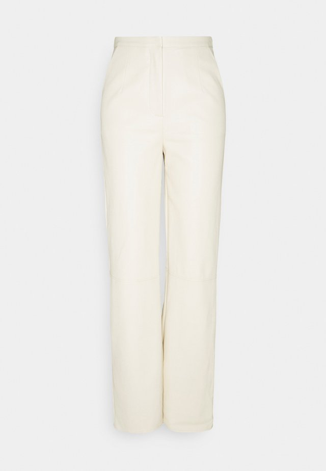 TROUSER - Pantalones - ivory