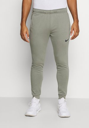 PANT TAPER - Pantaloni sportivi - light army/black
