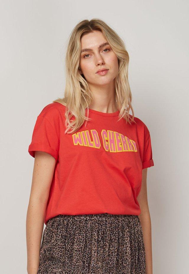 WILD CHERRY - T-shirt print - red