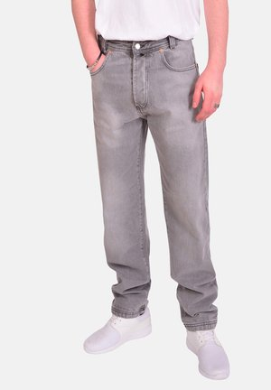 MONTANA - Relaxed fit jeans - grey
