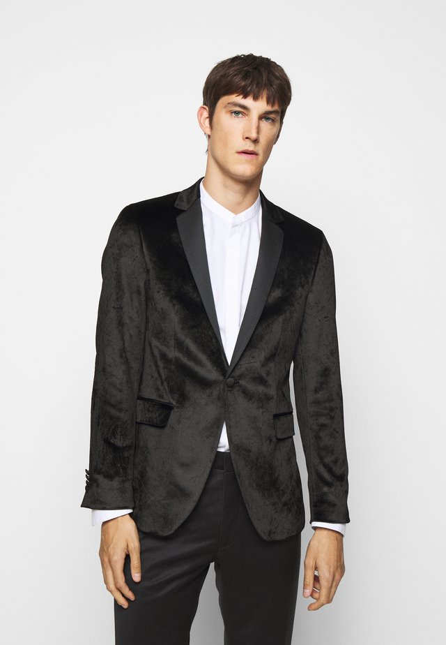 JACKET SIGNATURE - blazer - black