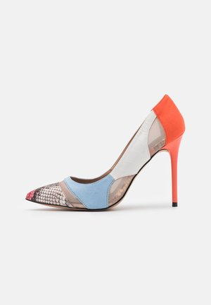 Klassiske pumps - multicolor