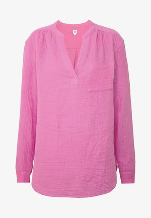 GAUZY POPOVER - Blouse - wild orchid