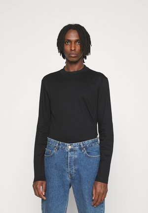 ACE MOCK NECK - Long sleeved top - black