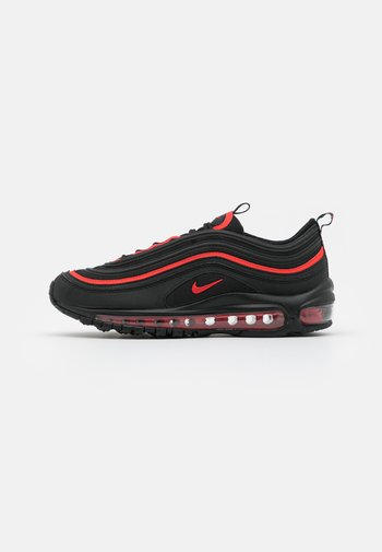 AIR MAX 97 UNISEX - Sneakers laag - black/chile red/black