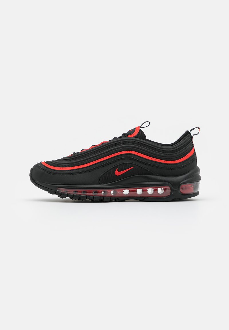Nike Sportswear - AIR MAX 97 UNISEX - Trainers - black/chile red/black