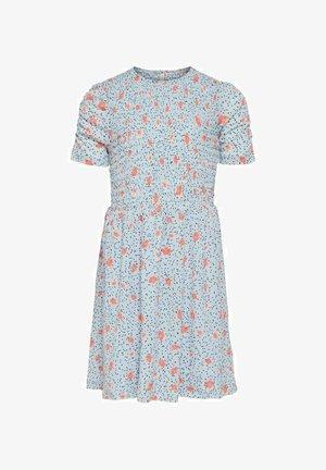 Day dress - faded denim