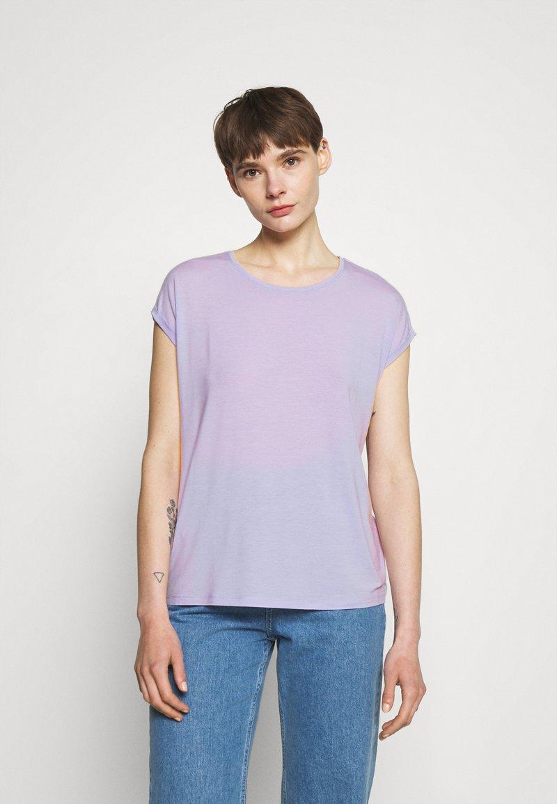Vero Moda - Jednoduché triko - pastel lilac