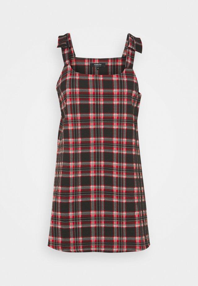 PONTI PINAFORE DRESS - Sukienka z dżerseju - black