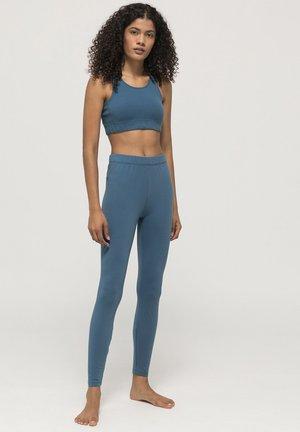 Legging - blaugrau