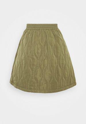 YASWENNA SKIRT - Minifalda - khaki