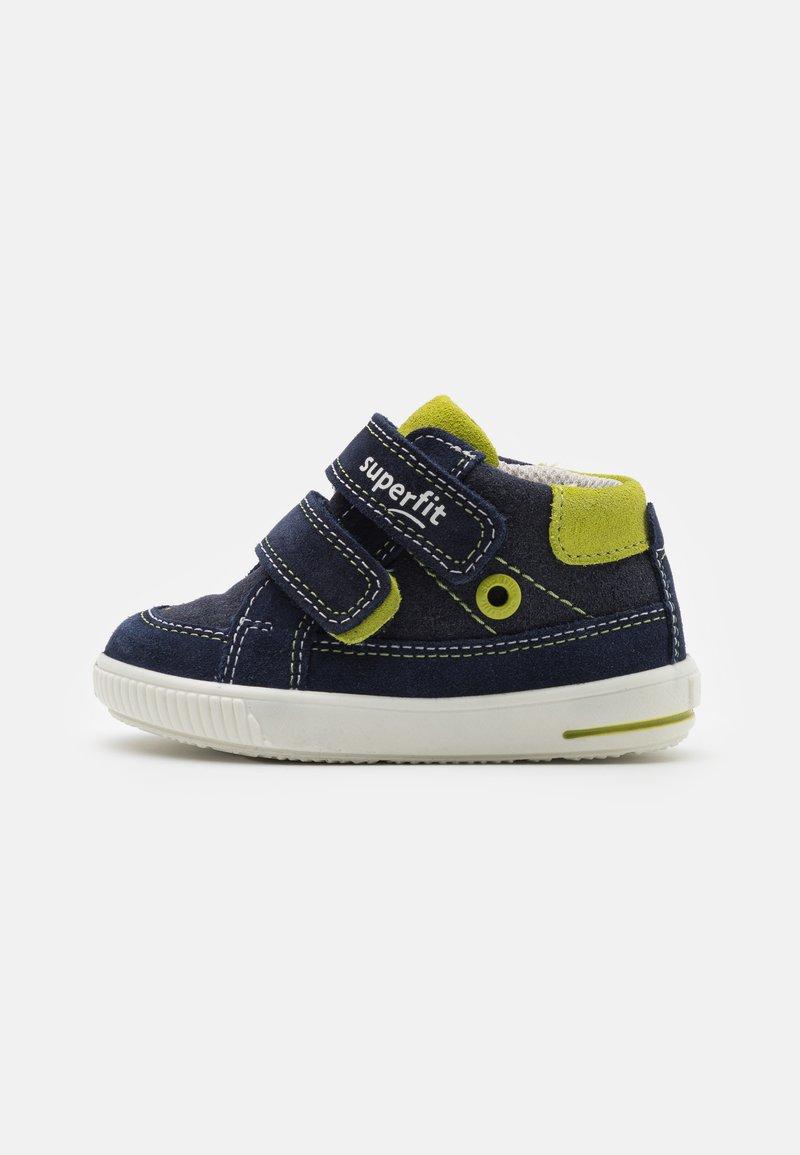 Superfit - MOPPY - Touch-strap shoes - blau/grün