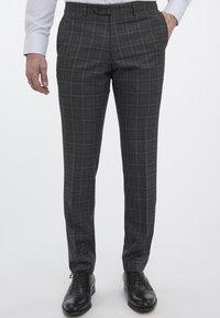 Van Gils - Suit trousers - grey - 0