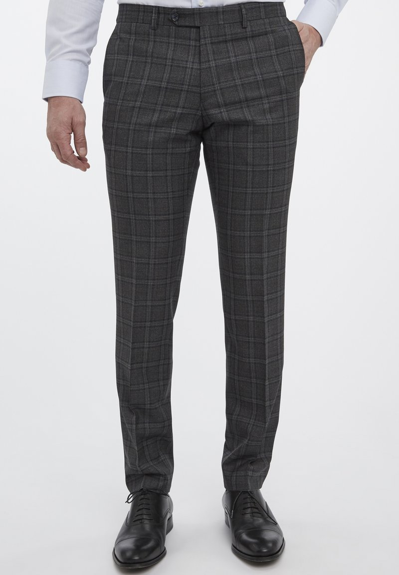 Van Gils - Suit trousers - grey
