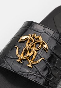 Roberto Cavalli - Pantofle - black/gold