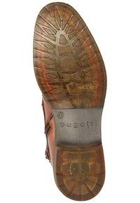 Bugatti - LUSSORIO - Lace-up ankle boots - cognac - 4