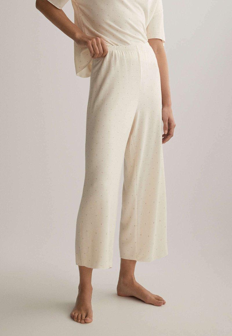 OYSHO - Pyjama bottoms - off white
