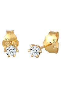 DIAMORE - Earrings - gold-coloured - 4