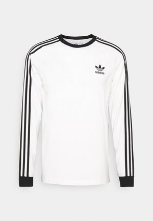 ADICOLOR CLASSICS 3-STRIPES LONG SLEEVE TEE - Langærmede T-shirts - white
