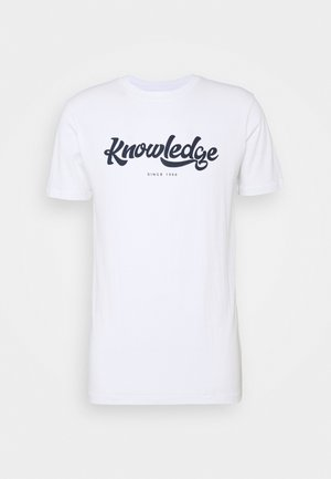 ALDER BIG TEE - Print T-shirt - 1010