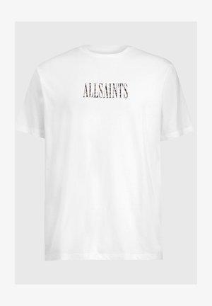 STAMP CAMO  - Print T-shirt - white