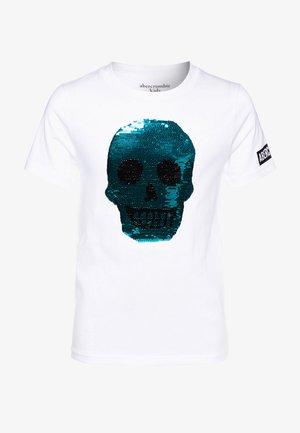 INTERACTIVE - Print T-shirt - neon