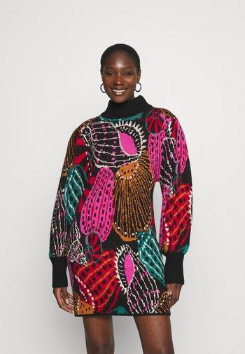 SHELL MIX DRESS