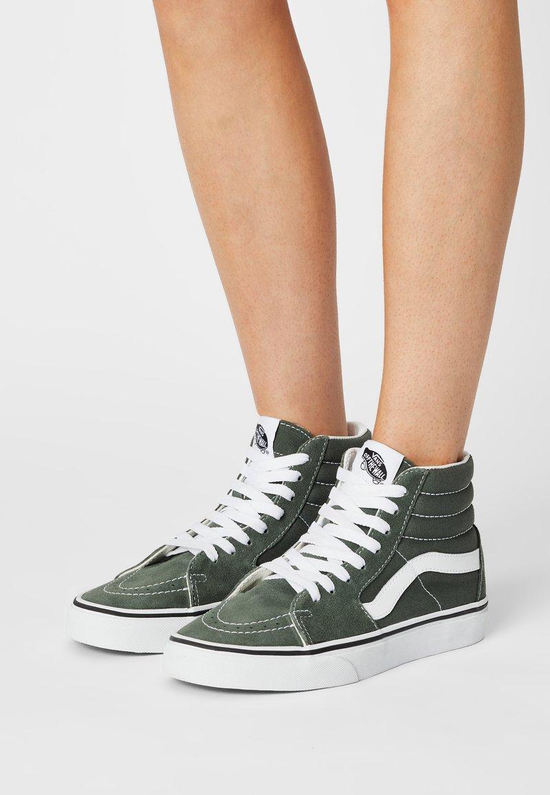 Vans - SK8 - Sneaker high - thyme/true white