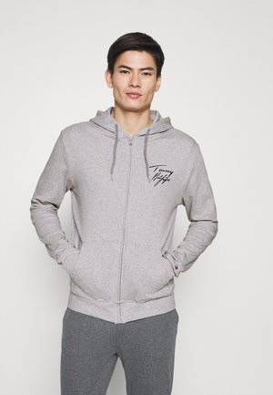 HOODIE - Nachtwäsche Shirt - grey