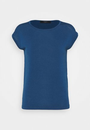 TEAK - Basic T-shirt - chinablau