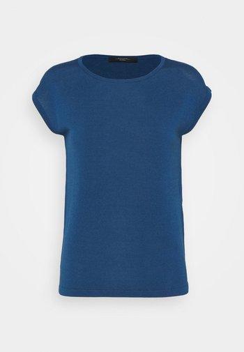 TEAK - Basic T-shirt - chinablau