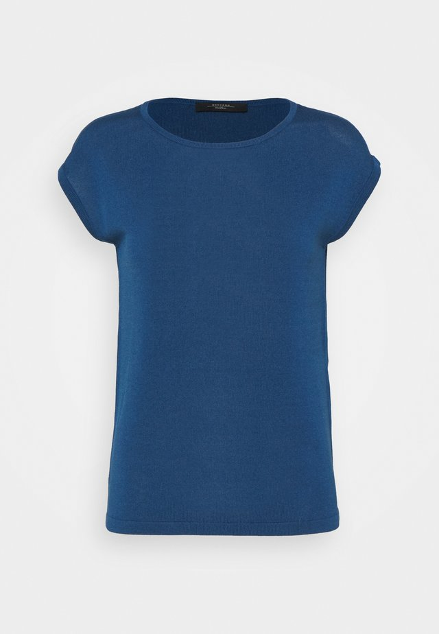 TEAK - T-shirt basic - chinablau