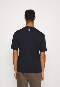BOSS - BOSS X RUSSELL ATHLETIC - T-Shirt print - navy - 2