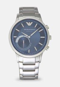 Emporio Armani Connected - RENATO CONNECTED - Chronograph watch - silver-coloured/blue - 0