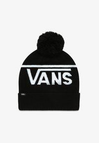 Vans - STRIPE POM - Beanie - black-white - 0