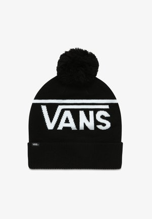 STRIPE POM - Beanie - black-white