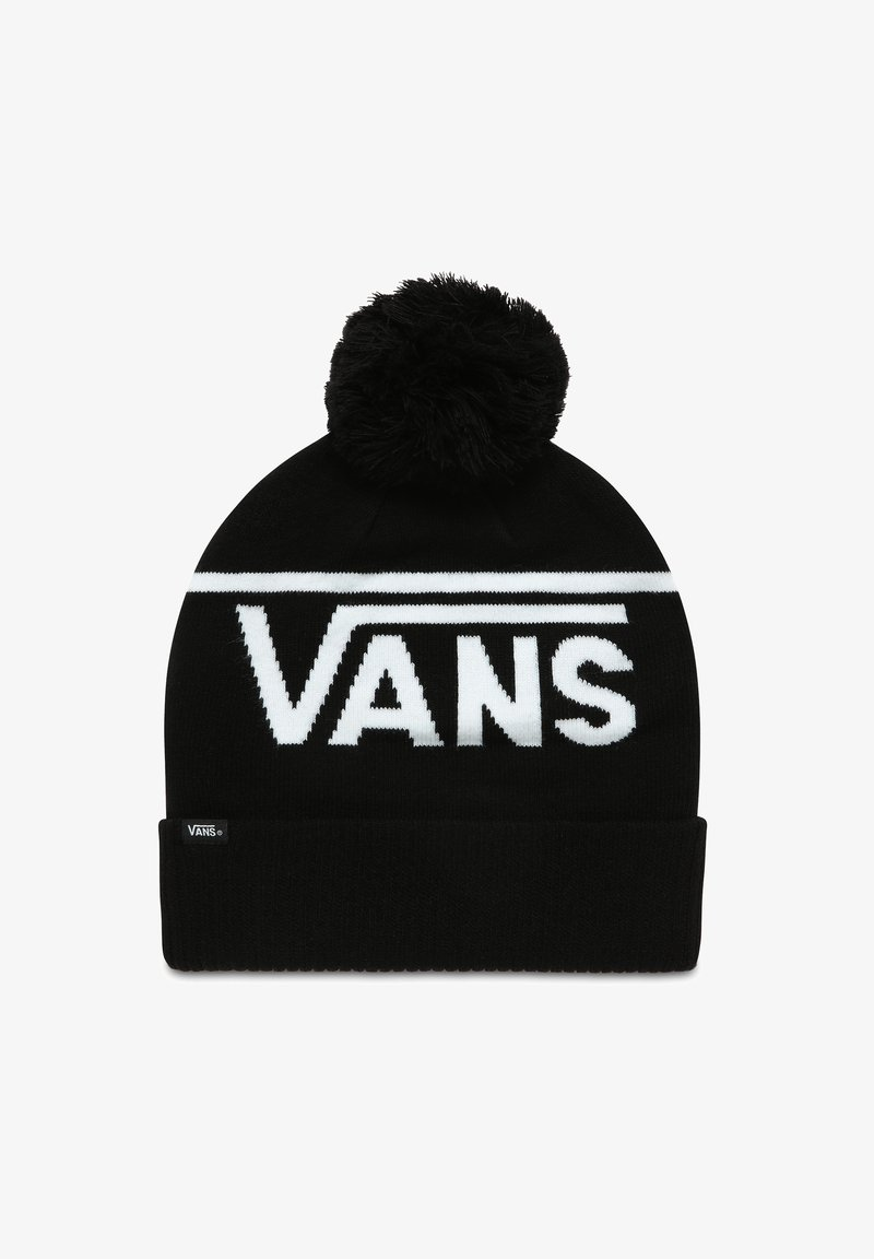 Vans - STRIPE POM - Beanie - black-white