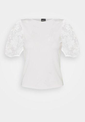 POLLY TOP - Print T-shirt - offwhite