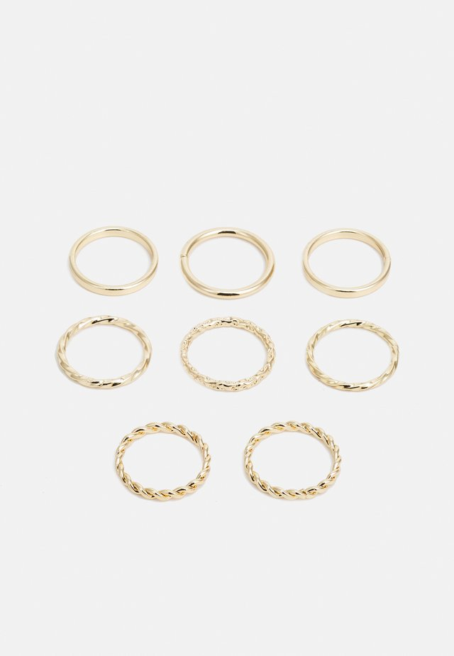 WIN TWIST STACKING 8 PACK - Ring - gold-coloured