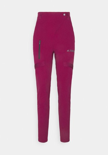 TERREX ZUPAHIKE - Outdoor trousers - berry