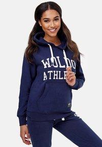 Woldo Athletic - Hoodie - blue - 3