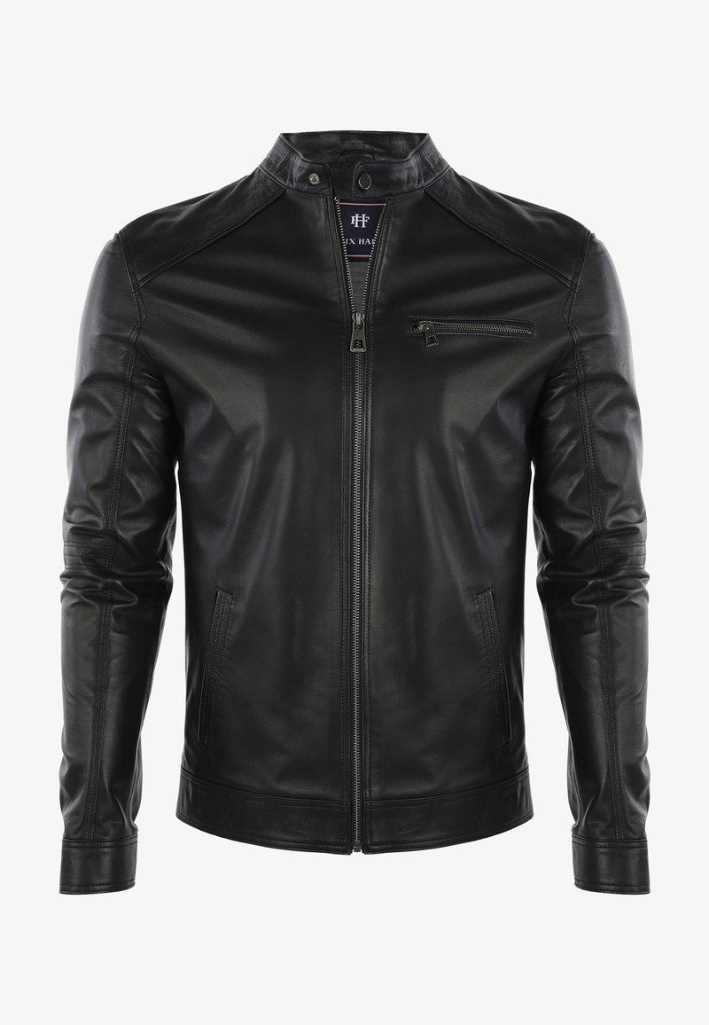 Felix Hardy - Leather jacket - black