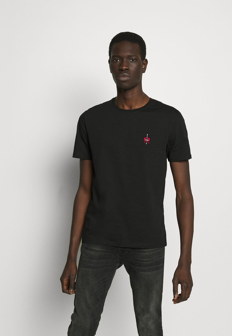 YOURTURN - T-shirt - bas - black