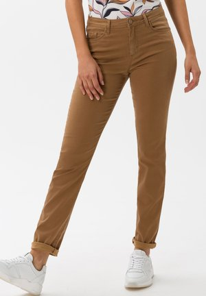 STYLE SHAKIRA - Trousers - walnut