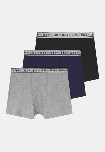3 PACK - Boxerky - grey